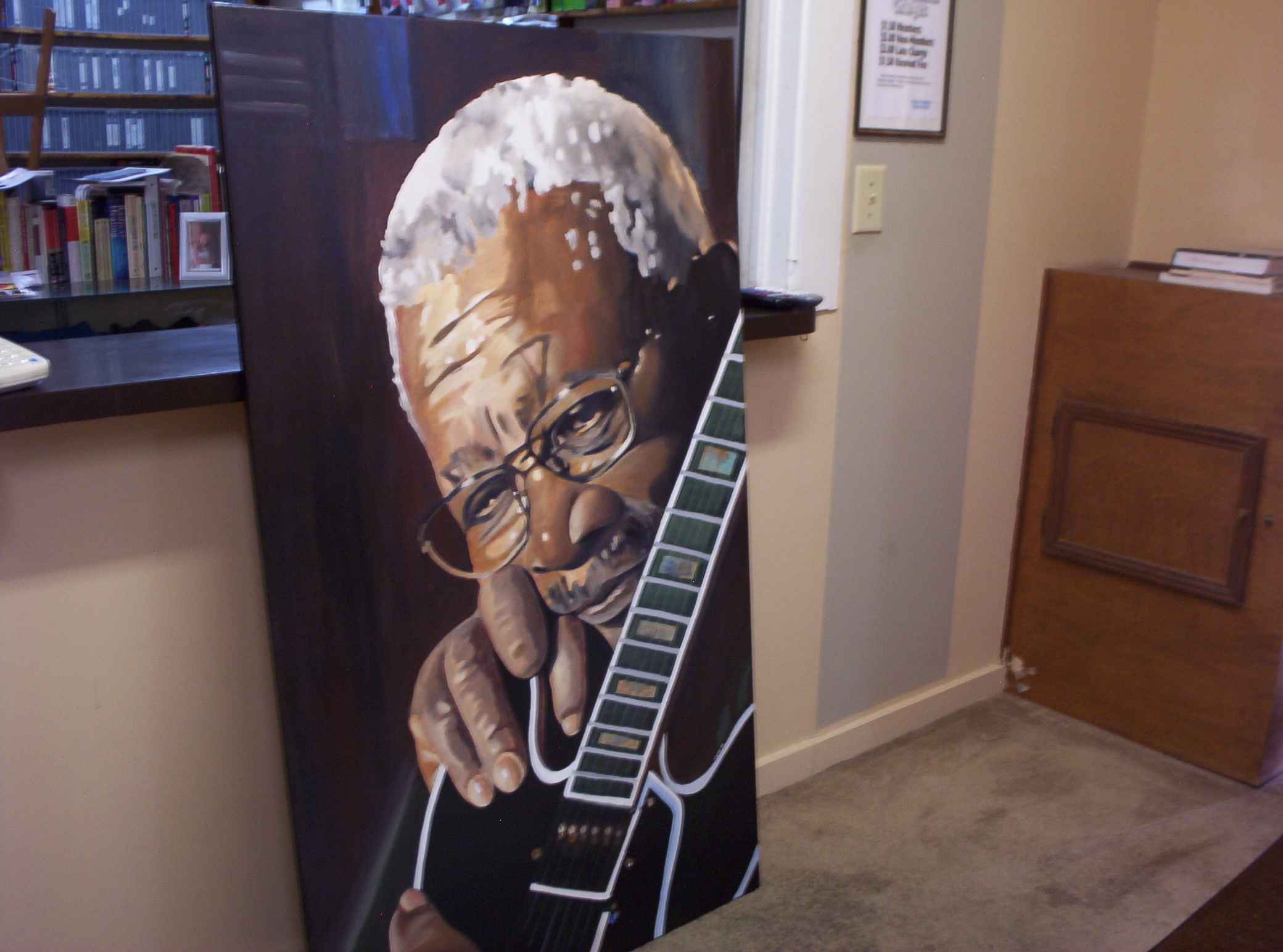B. B. King and Lucille
