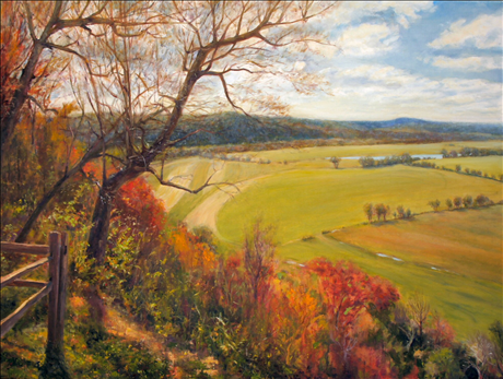 Peace in the Valley, 30x40, Oil