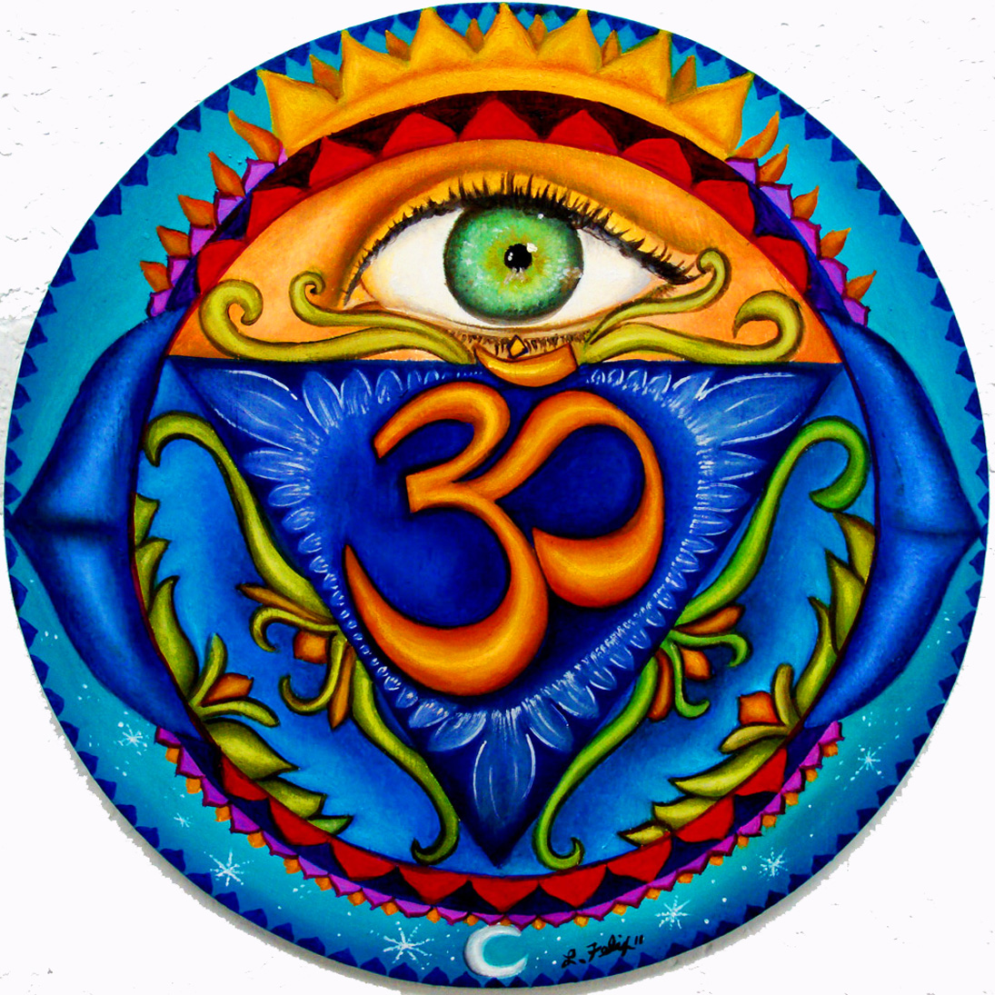Anja, 6th chakra, Third Eye, 8.5