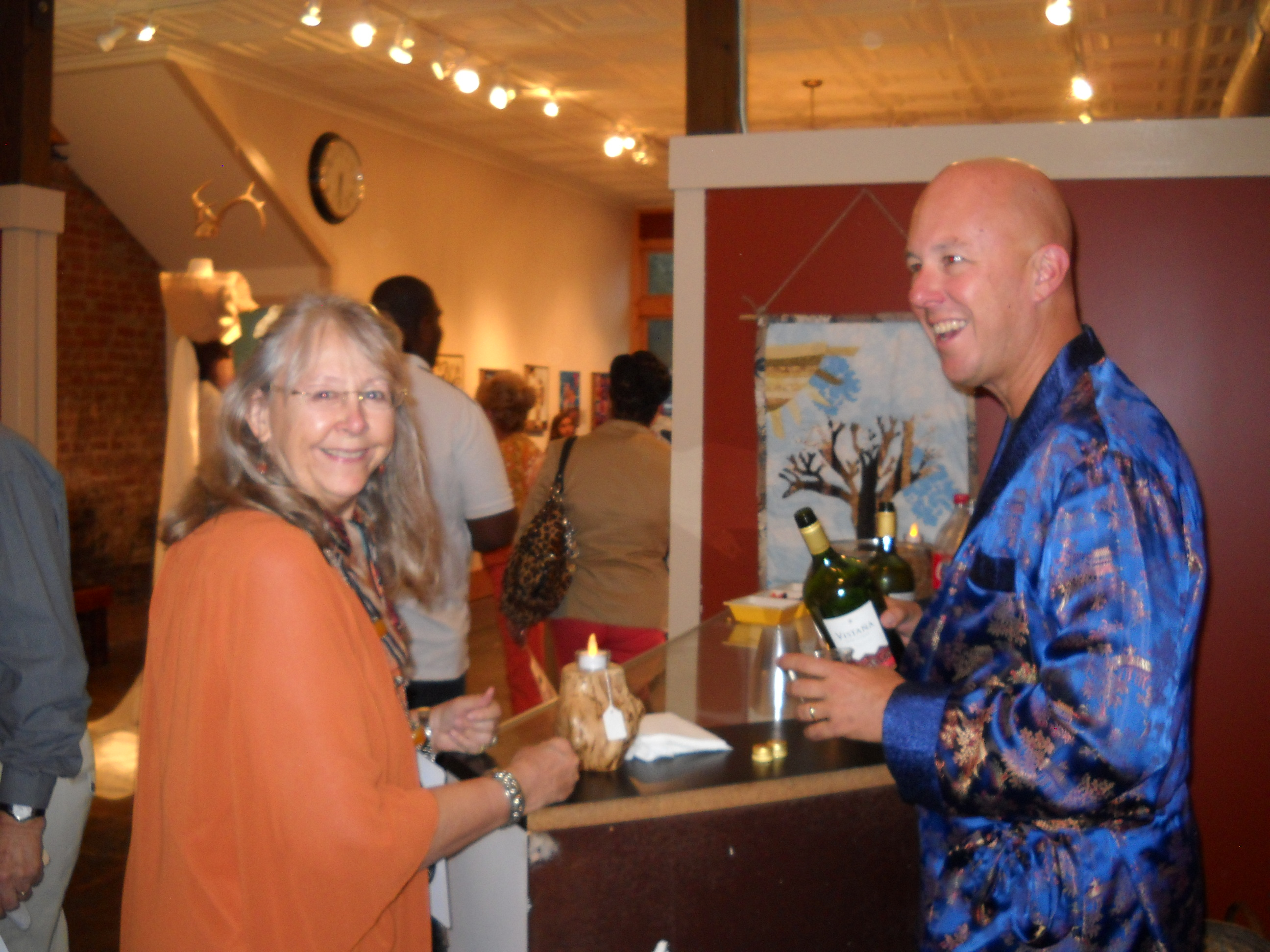Book your party at Bozarts! pictured Paula Temple and Mickey Howley