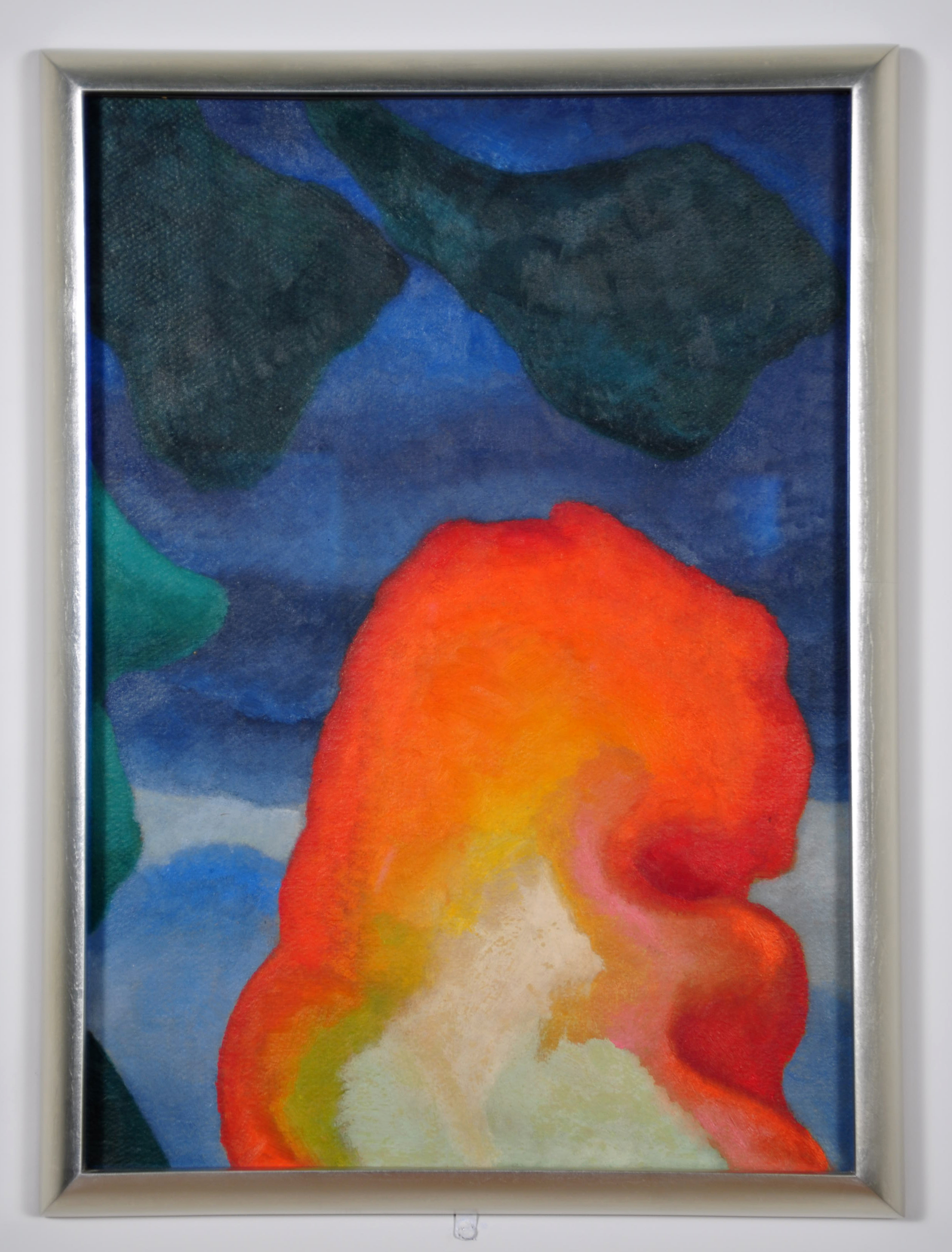 Georgia O'Keeffe's painting is a highlight in The Seymour Lawrence Collection. This collection features paintings and drawings from American artists.