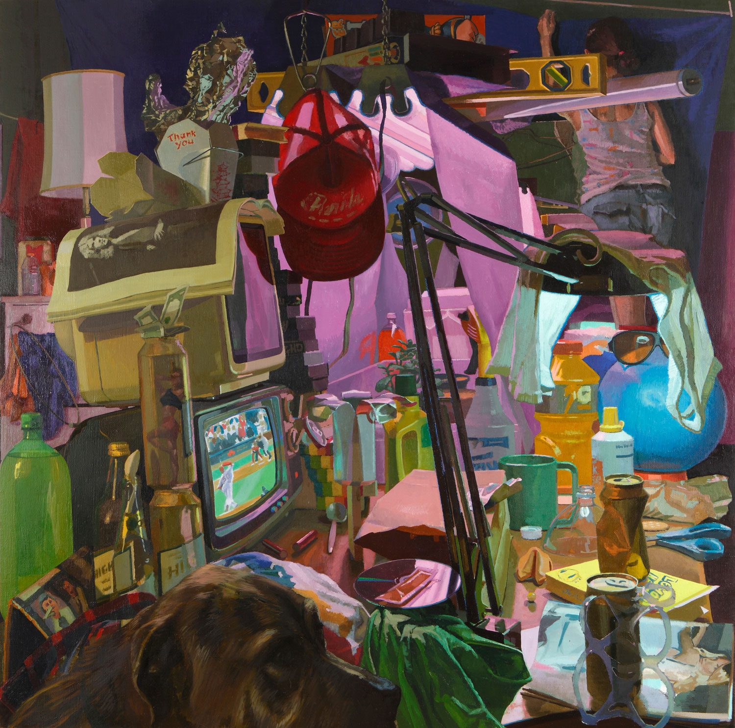 Dusty's Table, oil on linen on panel, 2012