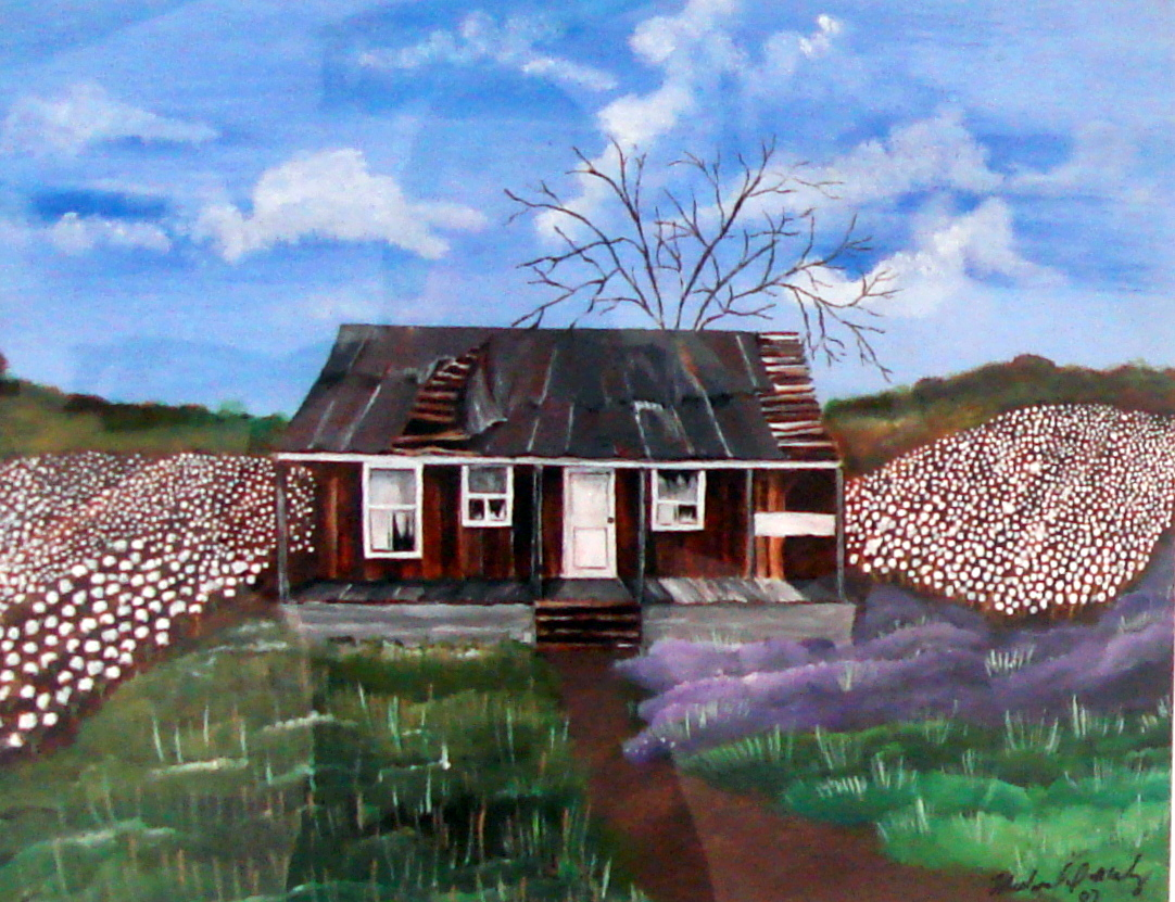 Purple Grass Shack,, 2010