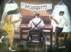 The Steppers- oil on canvas-2014