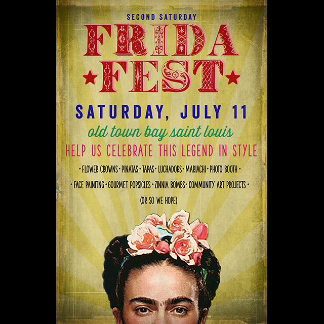 We are so excited about our upcoming event, Frida Fest!