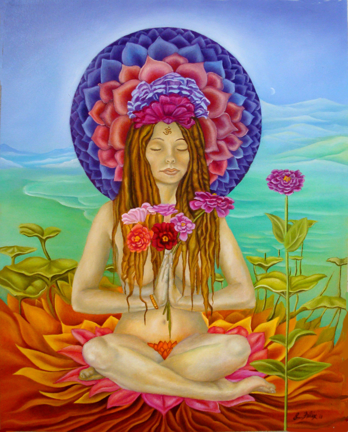Lady Zinnia in the 7th Chakra, 16