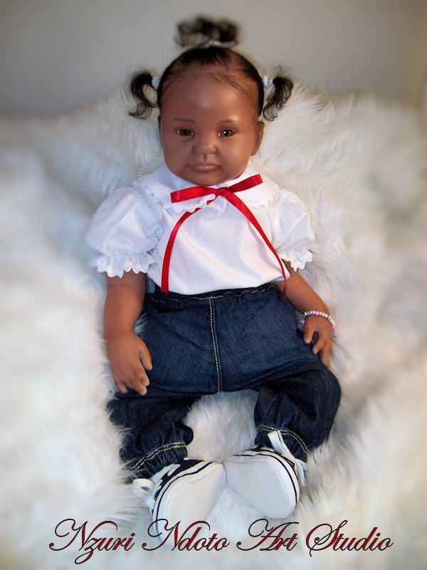 Baby Malaiah: Reborn doll that represents a baby that would be 3 - 6 months old.
