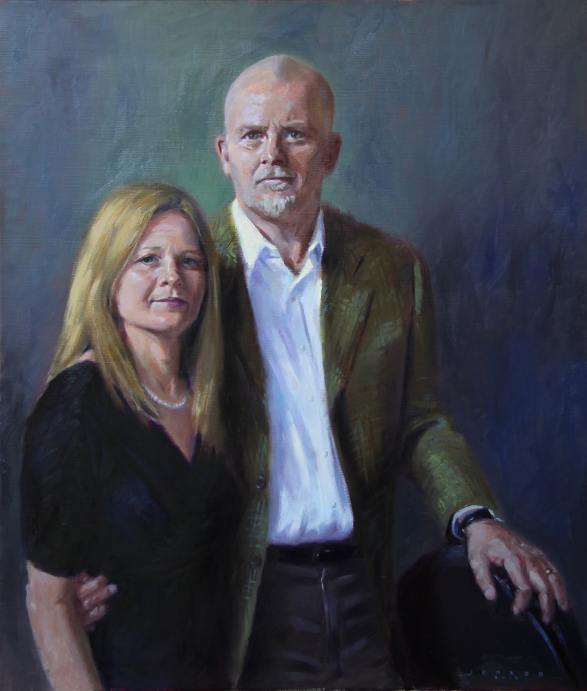 Portrait - Oil on linen - 30