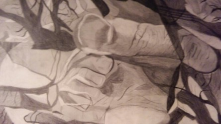 My Finger(charcoal)